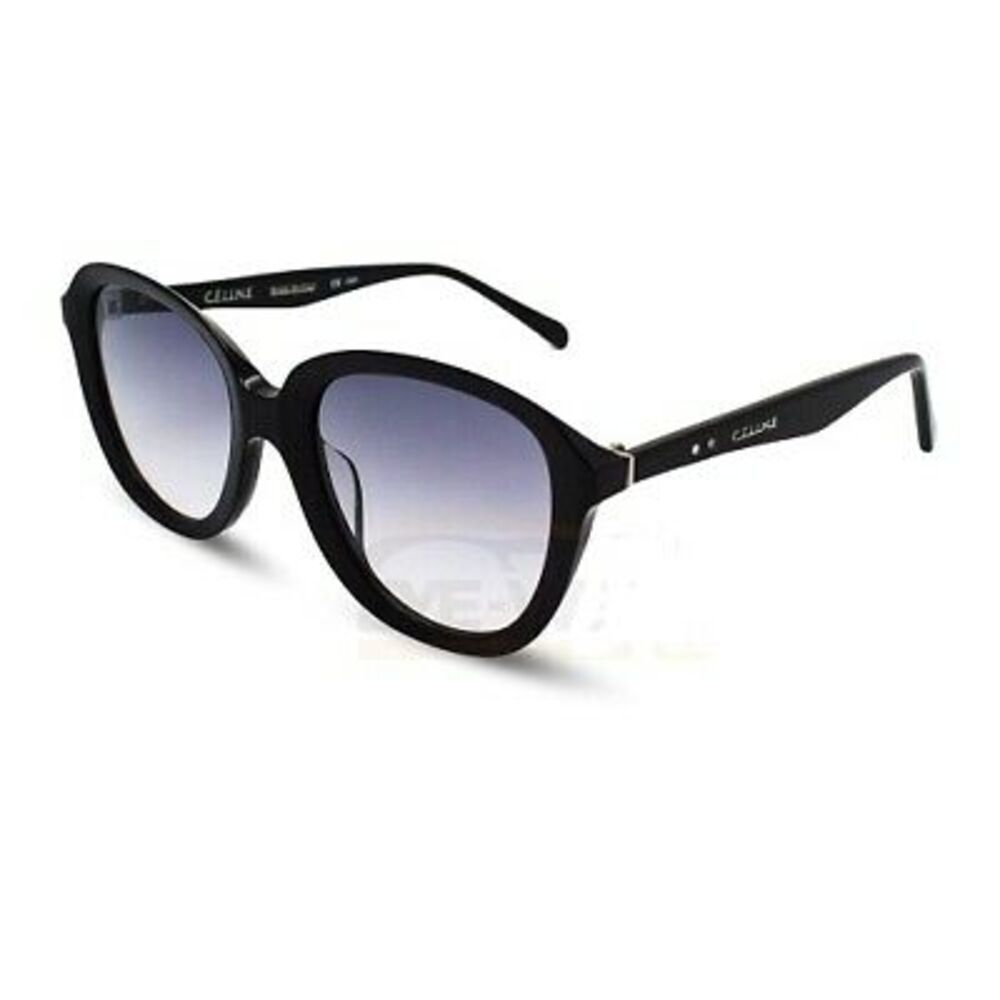 Celine CL41448/S 807 Black Acetate Frame Grey Lens Ladies Sunglasses