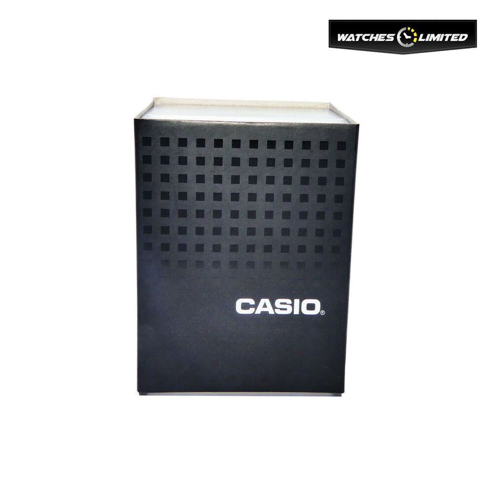 Casio Watch Replacement Box